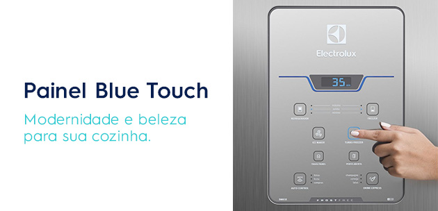 painel blue touch