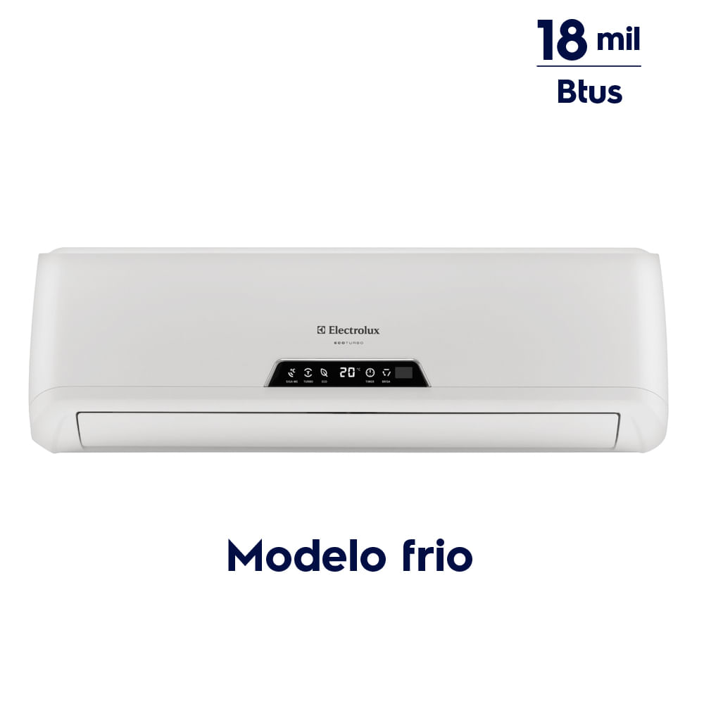 77674aa14 ... Ar Condicionado Split 18.000 Btus Frio (TI18F TE18F) ...
