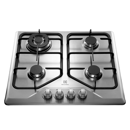 Cooktop 4 bocas cor Inox a Gás Electrolux (GT60X)