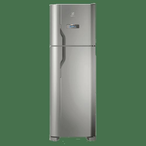 Geladeira/Refrigerador Frost Free Electrolux Inox 371L (DFX41)