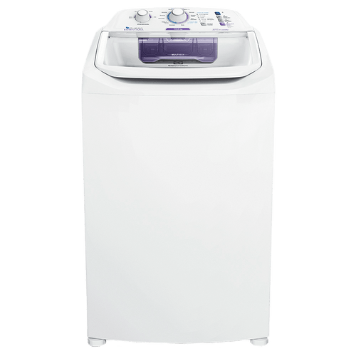 Máquina de Lavar 10,5kg Electrolux Branca Turbo Economia, Jet&Clean e Filtro Fiapos (LAC11)