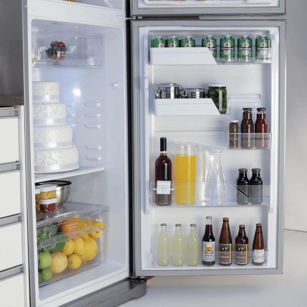 d93943865 ... Geladeira Refrigerador Frost Free 433 Litros Electrolux (TF51) ...