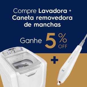 lavadora + caneta