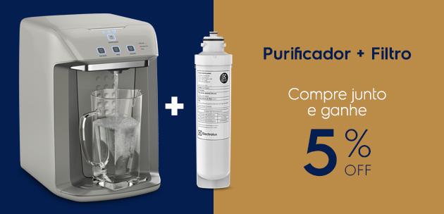 purificador + filtro