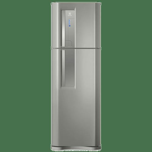 Geladeira/Refrigerador Top Freezer cor Inox 382L Electrolux (TF42S)