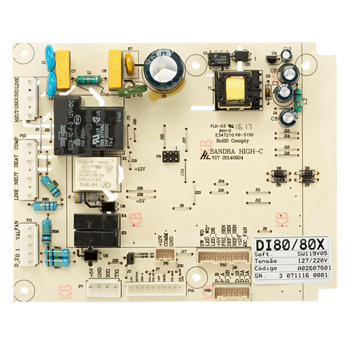 Placa Potência Refrigerador Electrolux - DI80X DT80X