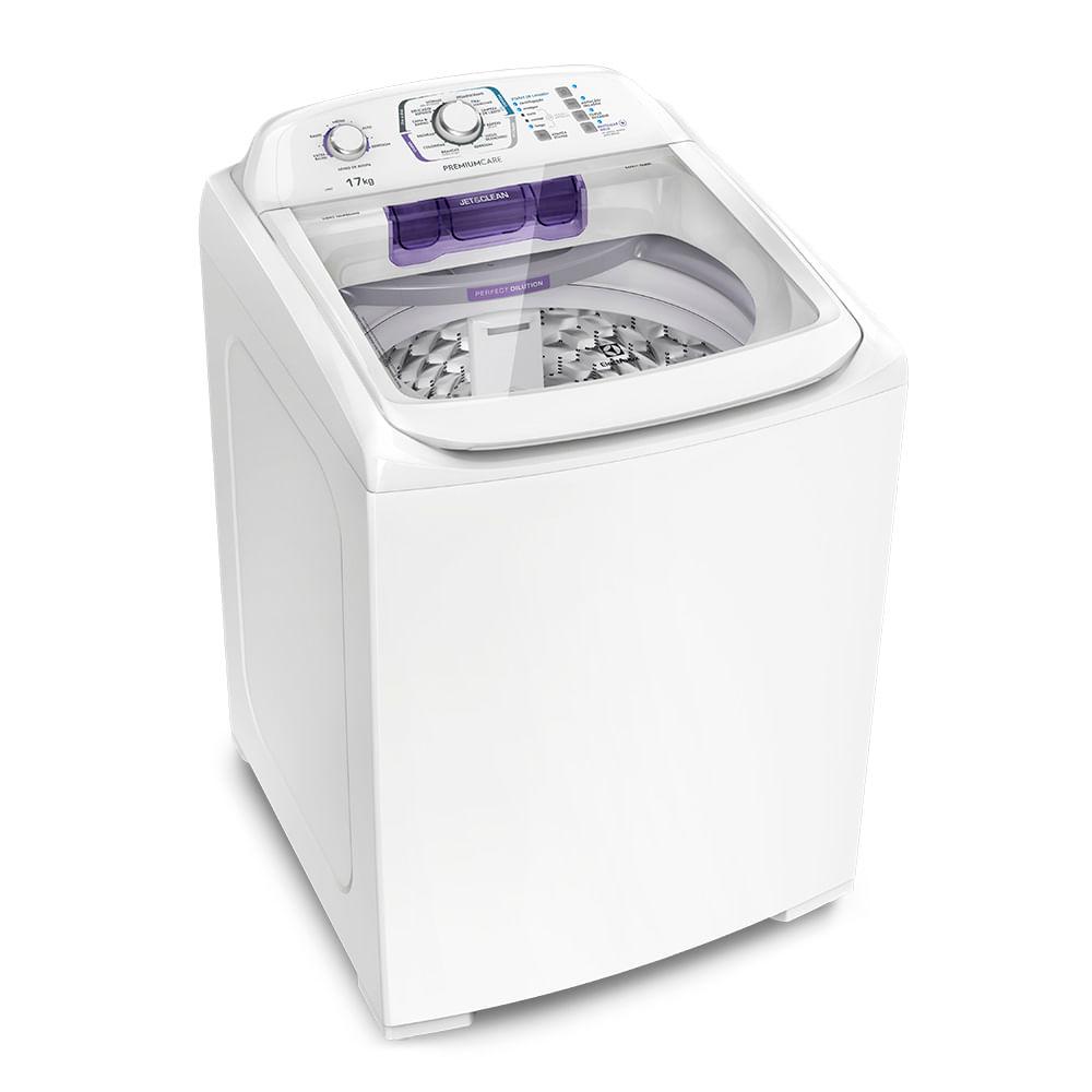 ... Lavadora Turbo Electrolux Branca com Capacidade Premium e Cesto Inox  (LPR17) ... ceb636093df8