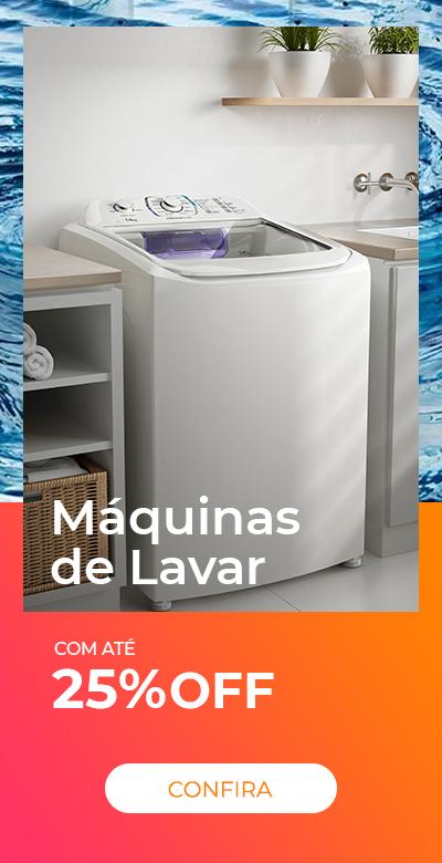 Semana do consumidor - maquina de lavar