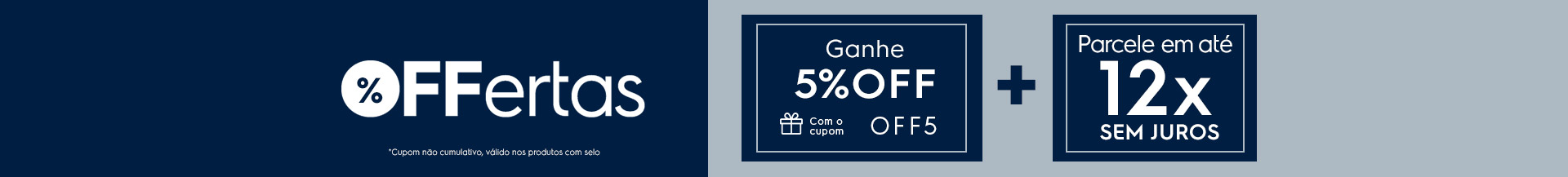 OFFertas 5%OFF - Coifas e Depuradores