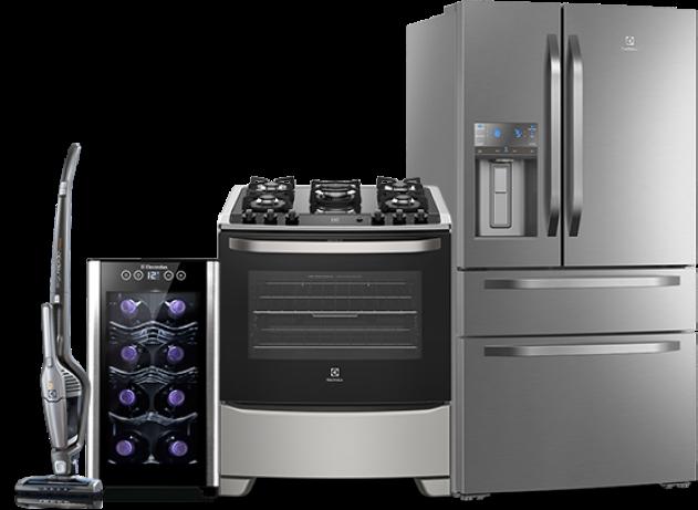 Cybermonday – Cybermonday eletrodomésticos e eletroportáteis Electrolux: aspirador, adega, fogão e geladeira.