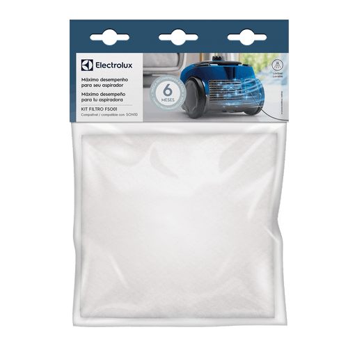Kit de Filtros para Aspirador de Pó SON10 Electrolux (FSO01)