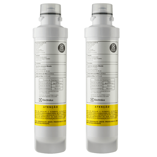 Kit 2 Filtros para Purificador de Água PE11B e PE11X Electrolux