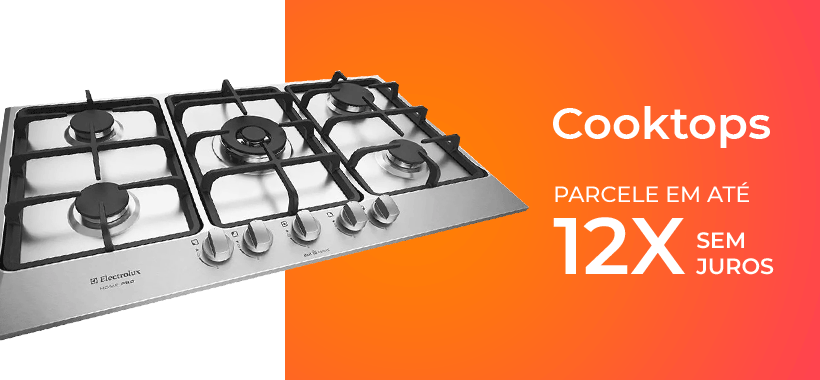 Semana do consumidor - cooktop