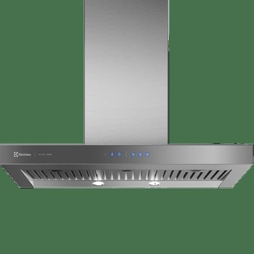 Coifa de Parede Electrolux 90cm Home Pro (90CTU) - Inox, Painel frontal de Vidro Espelhado