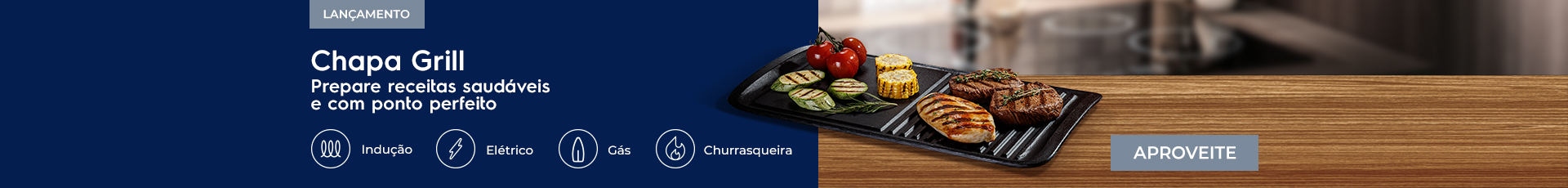 Chapa grill - Cooktops