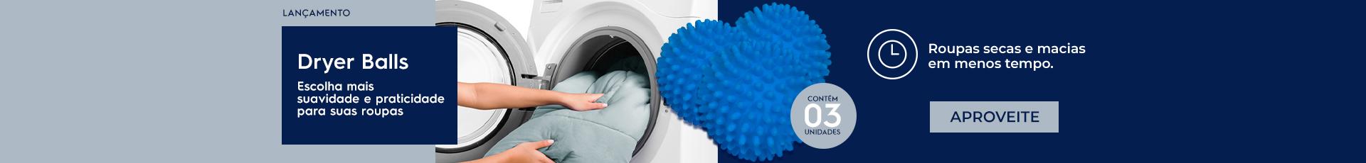 Dryer Balls - Lavadoras de Roupas