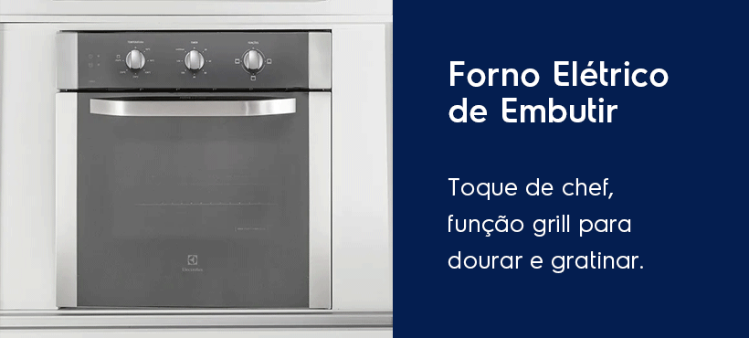 cubo elux days forno