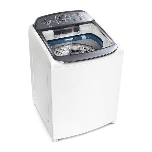 Máquina de Lavar 16kg Electrolux Perfect Wash Máquina de Cuidar com Cesto Inox e Jet&Clean (LPE16)