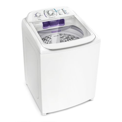 Máquina de Lavar 17Kg Electrolux Premium Care com Cesto Inox, Jet&Clean e Sem Agitador (LPR17)