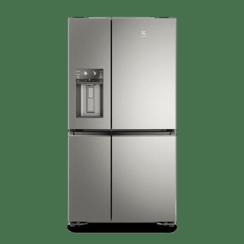 Geladeira Electrolux Multidoor Inox Conectada com FlexiSpace (DQ90X)