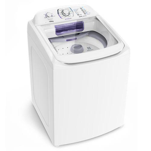Máquina de Lavar 16kg Electrolux Turbo Economia, Silenciosa com Jet&Clean e Filtro Fiapos (LAC16)